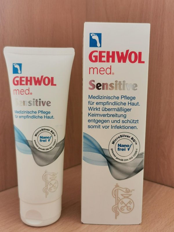 Gehwol med. Sensitive, 125 ml